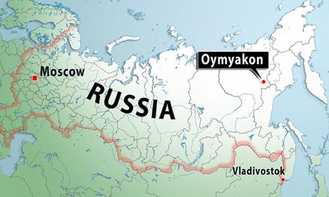 俄罗斯世界地图