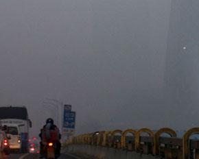 中国遭大面积雾霾笼罩 什么是雾霾高清组图