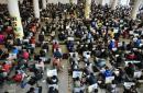 山东2013艺考开始 五千余名考生同场竞争