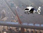 上海出动直升机查堵违章车辆