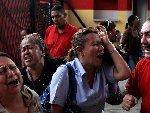 委内瑞拉总统查韦斯逝世 支持者悲痛