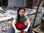 汶川地震断腿舞蹈老师奔赴雅安震灾区当志愿者