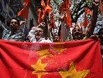 """印度右翼分子示威游行 抗议中国""""入侵印度"""""""