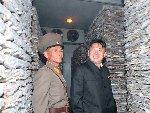 金正恩视察朝鲜人民军部队供应基地