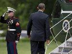 奥巴马忘给士兵回礼被指违反军规