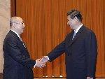 习近平会见中国国民党荣誉主席吴伯雄