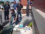 安徽送考车失控冲向考生人群 致1死3伤