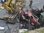 浙江浦江发生特大车祸 多车碰撞致8死多伤