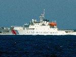 中国海警船首次进入钓鱼岛海域巡航
