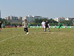 蚌埠市直机关足球赛 市长一人进4球